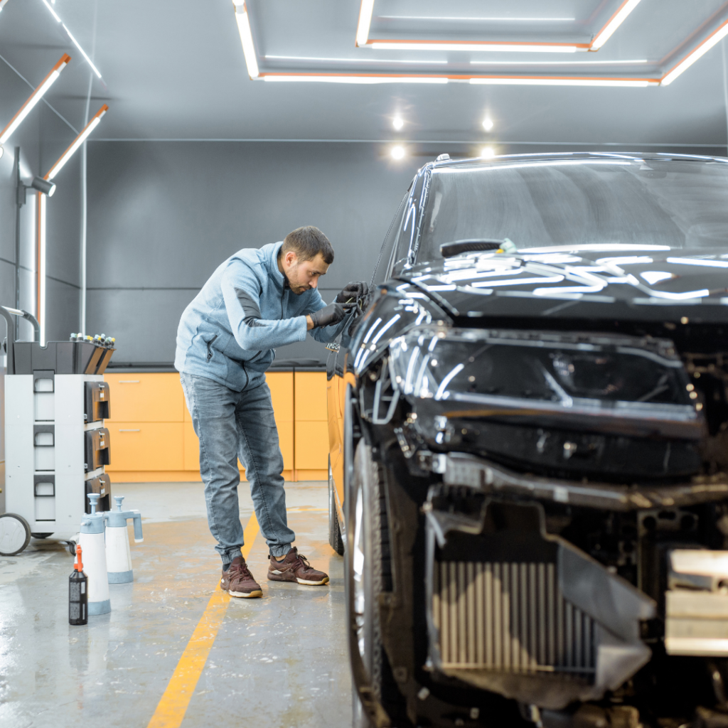 peintre carrossier garage Brech Auray automobile